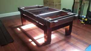 Pool and billiard table set ups and installations in Hinesville Georgia
